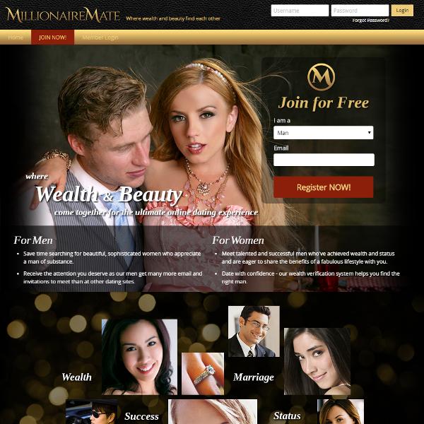 Dating-sites für millionäre